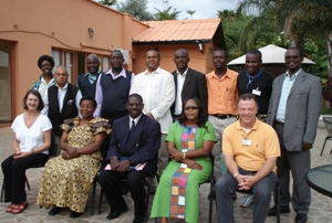 St John Zambia Council during a governance workshop